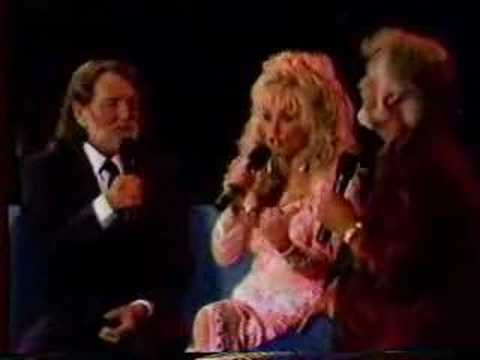 Youtube: Kenny Rogers/Dolly Parton/Willie Nelson Live Medley