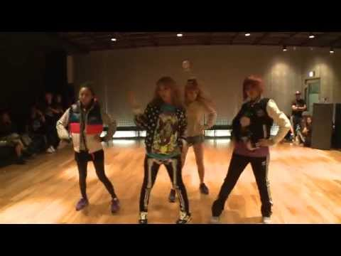 "Youtube: 2NE1 ""I AM THE BEST"" Choreography Practice (Uncut Ver.)"