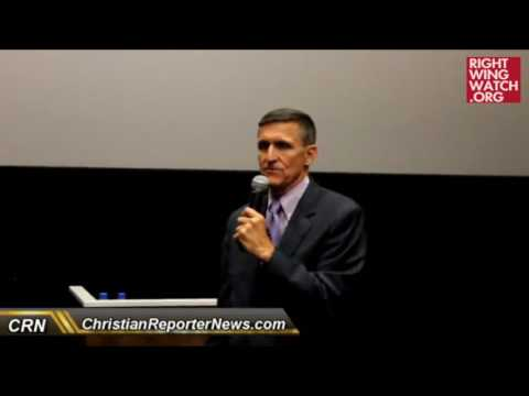 Youtube: RWW News: Michael Flynn: Islam Is A 'Cancer,' 'Political Ideology' That 'Hides Behind' Religion