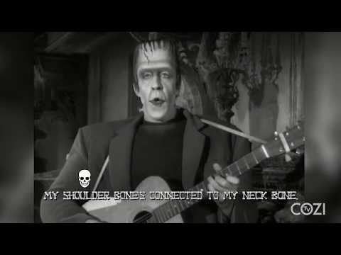 "Youtube: Herman Munster Sings ""Dem Bones"" 