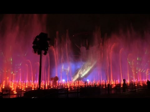 Youtube: Star Wars: The Force Awakens World of Color Celebrate segment at Disneyland