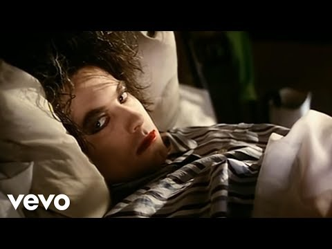 Youtube: The Cure - Lullaby (Official Video)