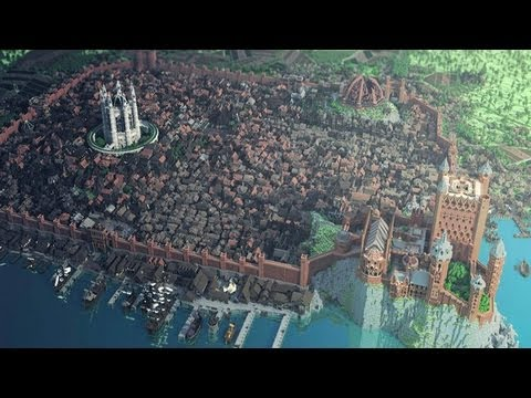 Youtube: Minecraft Game of Thrones Kings Landing City!