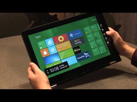 Youtube: Lenovo IdeaPad Yoga hands-on video