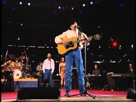 Youtube: George Strait - Does Fort Worth Ever Cross Your Mind (Live From The Astrodome)
