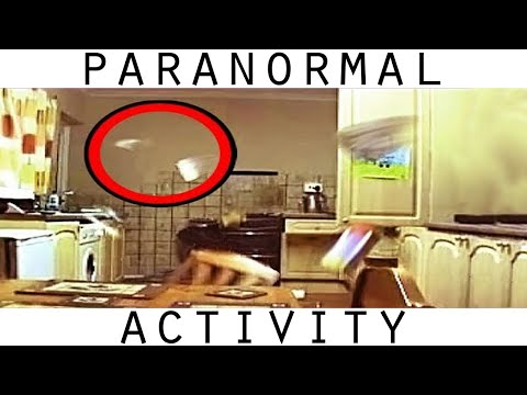 Youtube: Poltergeist Activity Caught On Video. REAL Ghost Caught On Tape In Kitchen. Part 1