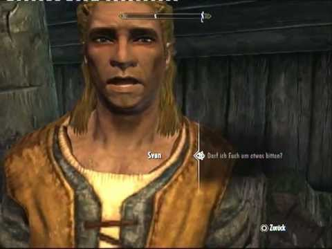 Youtube: The Elder Scrolls V: Skyrim Sprachaufnahme