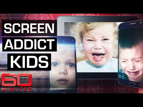 Youtube: Internet addiction disorder affecting toddlers | 60 Minutes Australia