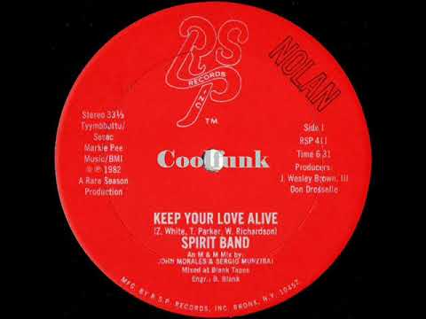 Youtube: Spirit Band - Keep Your Love Alive (12 inch 1982)