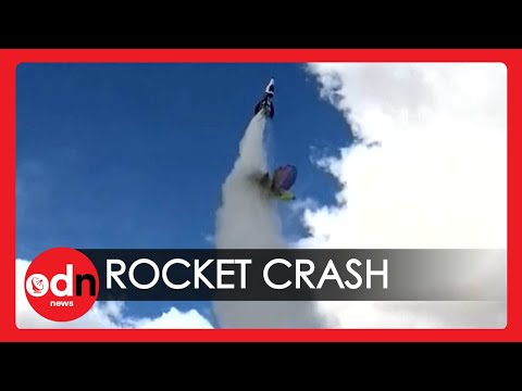 Youtube: Flat Earther Dies During Homemade Rocket Launch in California