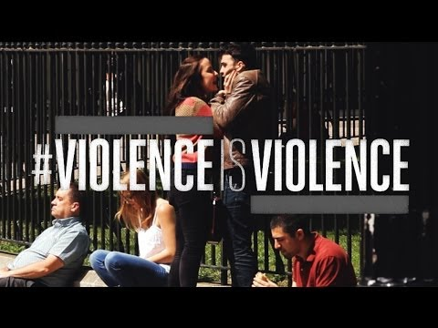 Youtube: #ViolenceIsViolence: Domestic abuse advert Mankind