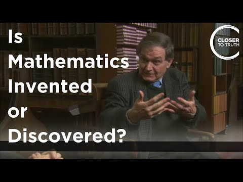 Youtube: Roger Penrose - Is Mathematics Invented or Discovered?