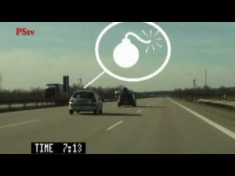 Mittelspurfahrer