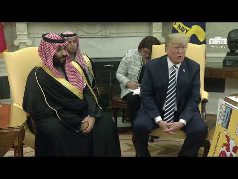 Youtube: President Trump Meets with Crown Prince Mohammad bin Salman of the Kingdom of Saudi Arabia