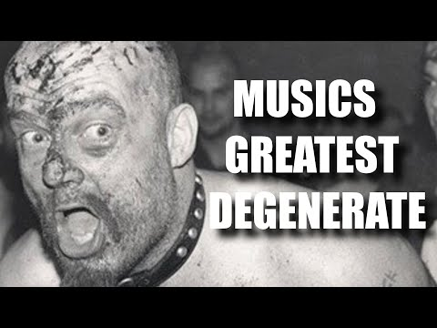 Youtube: The Scariest Rockstar of All Time (GG Allin)