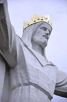 Jesusstatue Polen