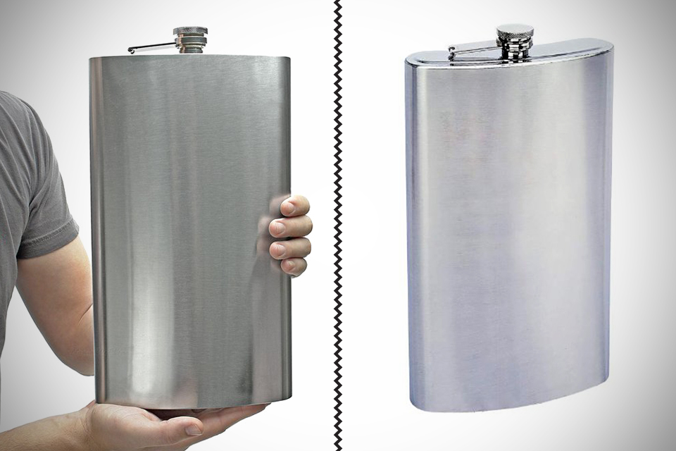 Maxam-Enormous-1-Gallon-Stainless-Steel-