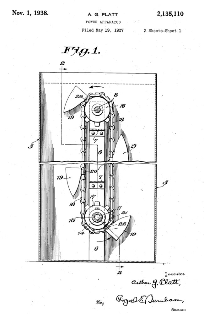 Rosch Patent US2135110 1