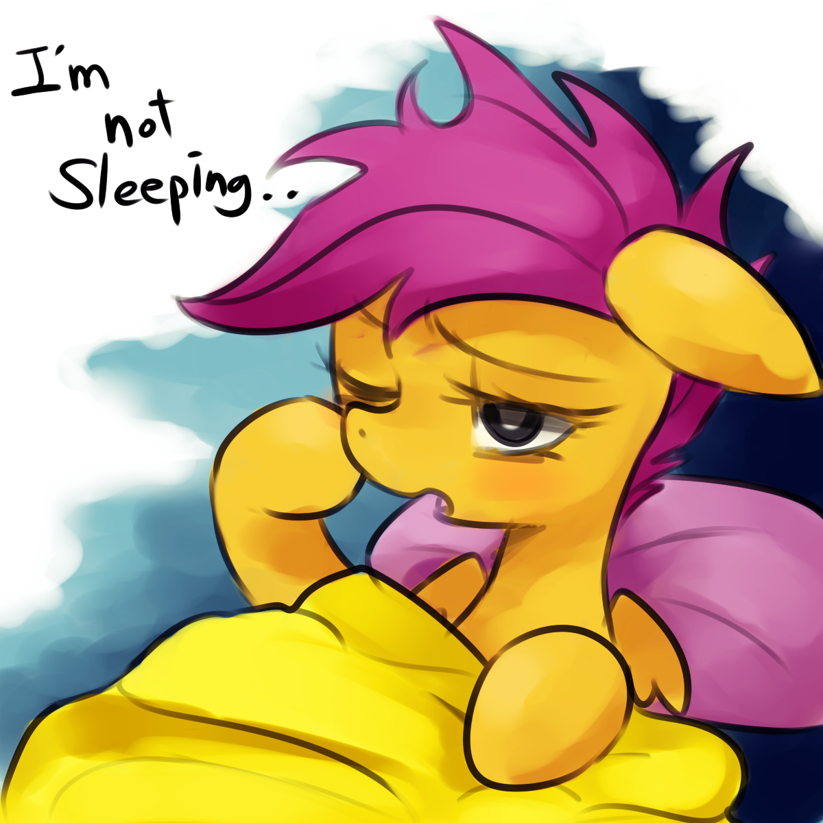 i m not sleeping   by marenlicious-d6xuh