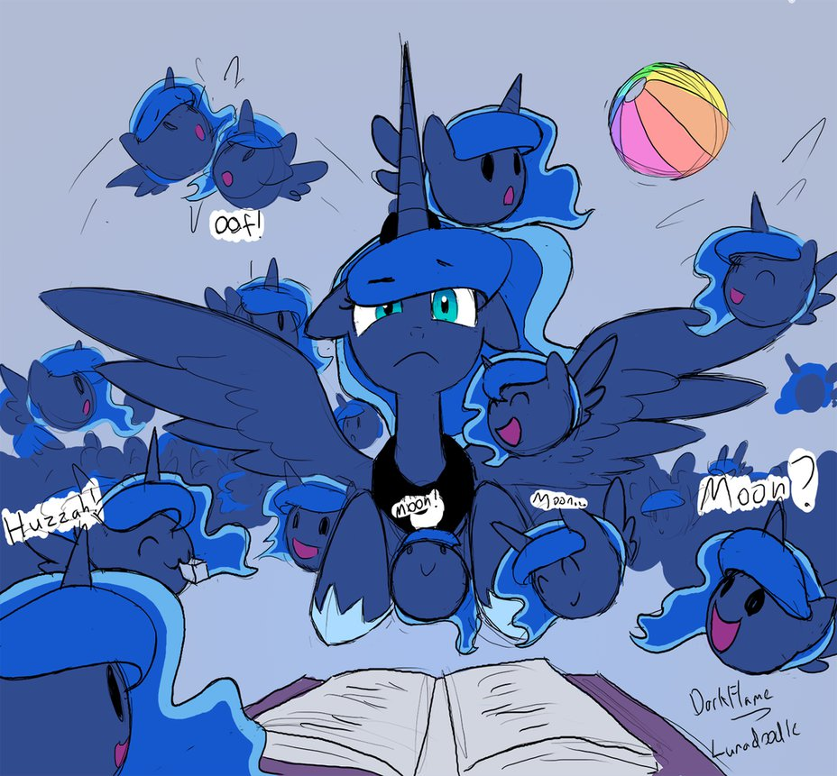 too many lunas  never  by darkflame75-d7