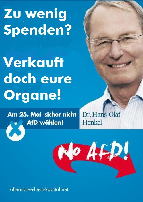 Plakate Afd