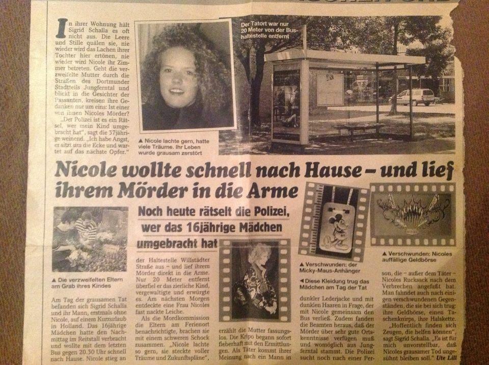 Nicole Denise Schalla Mord Täter Polizei