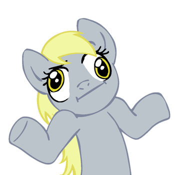 2252815489 shrugpony   derpy hooves   by