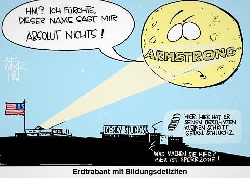 Van Allen Gürtel Mondlandung