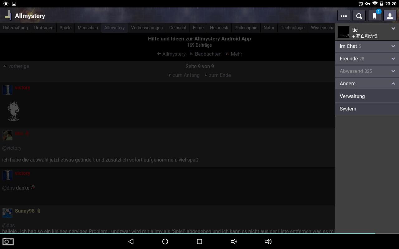 Hilfe und ideen zur allmystery android app seite 9 allmystery - Android app ideen ...