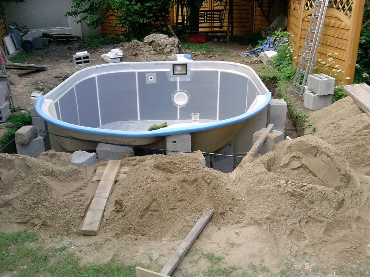 Der heimwerkerthread allmystery for Vlies pool verlegen