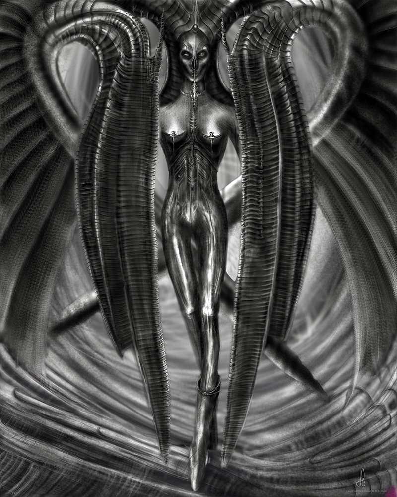 Giger  s Lilith by Pussypuncher
