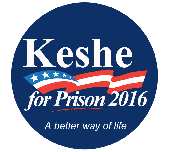 keshe for prison button